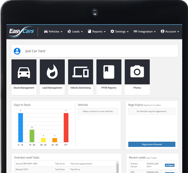 Dealer Management System EasyCars