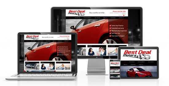 Car Dealer Responsive Website