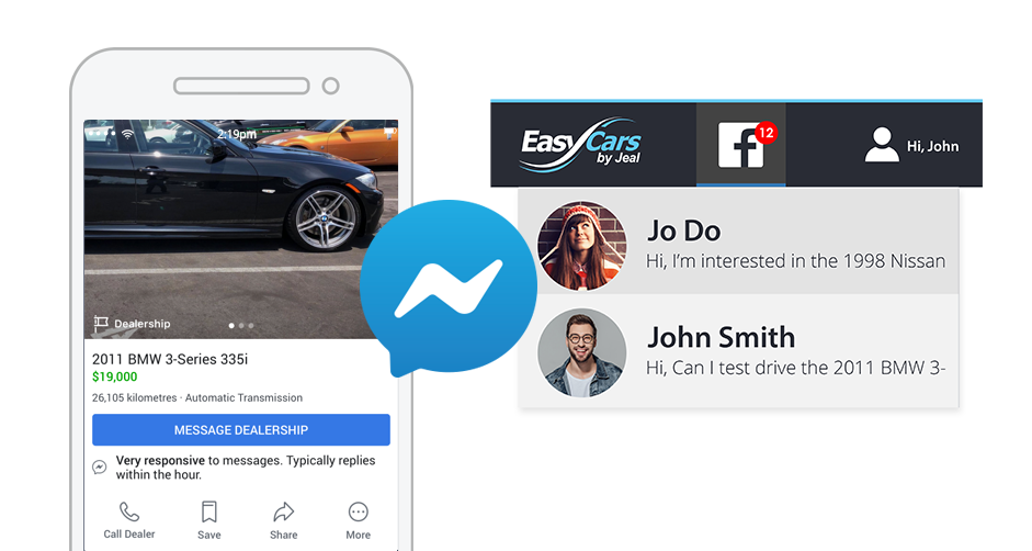 Facebook Marketplace for Motor Dealers